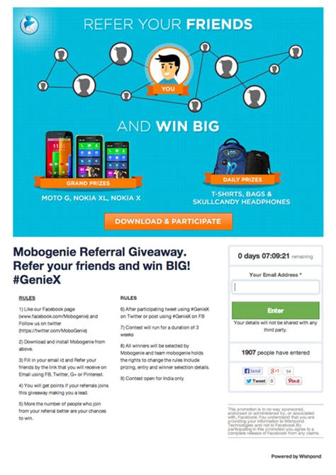 Facebook Page Giveaway Ideas - 7 facebook contest and promotion ideas with exles