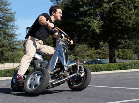 tilting trike motorcycle sway is an all electric tilting trike scooter