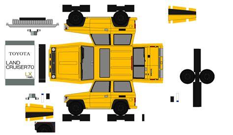 Hp Papercraft - 布沢アルペジオペーパークラフト館 トヨタ車