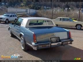 Cadillac Biarritz 1985 1985 Cadillac Eldorado Biarritz Coupe Medium Blue Metallic