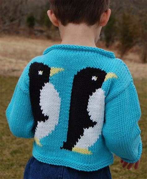 knitting pattern penguin jumper you have to see penguin sweater to knit by val love