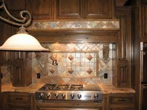 Copper Backsplash Tiles For Kitchen by Copper Quartzite Kitchen Backsplash For The Home
