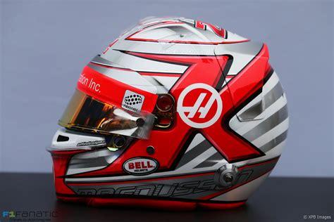 Motorsport Helm by Kevin Magnussen Helmet Haas 2017 183 F1 Fanatic