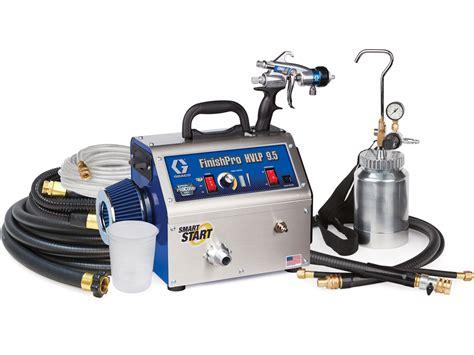 Spray Gun Profesional F75 Hvlp Crossman Usa graco finishpro hvlp sprayers hvlp paint sprayer