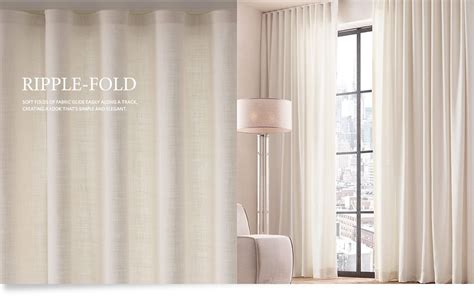 modern ripple fold drapes with a classic twist home office miami by maria j window custom drapery collections rh