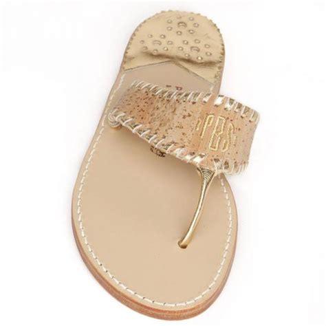 monogrammed sandals monogrammed palm sandal