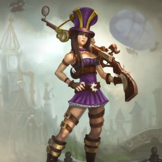 caitlyn, the sheriff of piltover (character) giant bomb