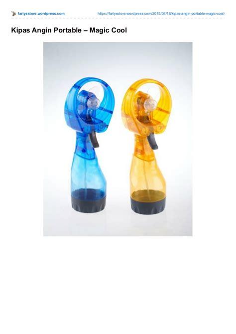 Alat Pres Plastik Portable kipas angin portable
