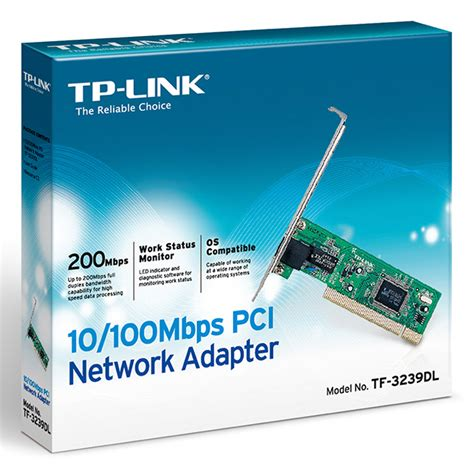 Tp Link Pci Network Adapter 100mbps Tf 3239dl Multi Warna tp link pci network adapter 100mbps tf 3239dl
