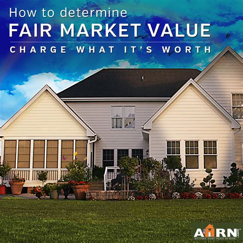 how to determine the fair market value for your rental
