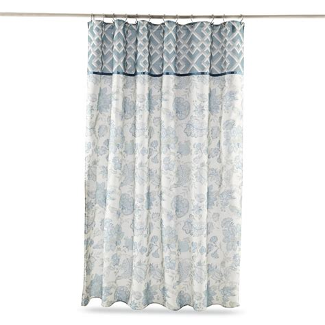 Sears Fabric Shower Curtains by Essential Home Shower Curtain Chadwick
