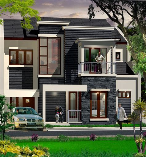 exterior home decor high end black white exterior design of the facade
