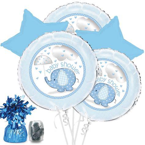 Blue Baby Shower Supplies by Umbrellaphants Blue Baby Shower Balloon Bouquet Kit