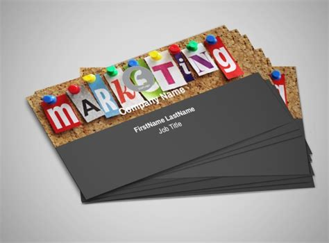 marketing card template marketing agency business card template mycreativeshop