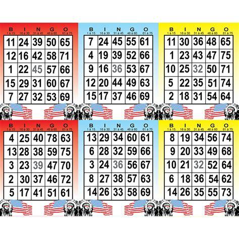 Grille De Bingo bingo am 233 ricain 1 grille