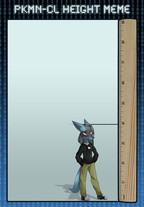 meme height height meme by shock1nglucario on deviantart