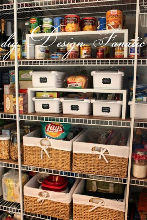Pantry Organization Baskets by Diy Design Fanatic Keep Your Pantry Organized