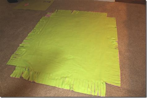 Make Fleece Tie Blanket by No Sew Fleece Tie Blanket Tutorial Confessions Of A