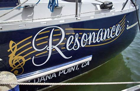 boat lettering costa mesa orange county ca signs indoor outdoor electrical led