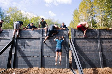 the obstacle to comfort photos seattle gets muddy for tough mudder kboi