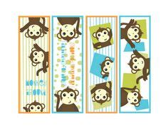 printable monkey bookmarks 1000 images about booksmarks on pinterest bookmarks ex