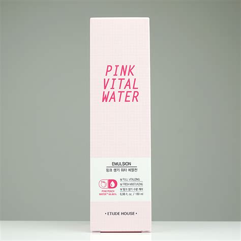 Harga Pink Vital Water Etude House etude house pink vital water emulsion review