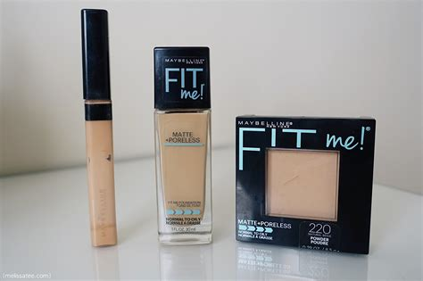 Maybelline Fit Me Poreless the blushing introvert maybelline fit me matte poreless review