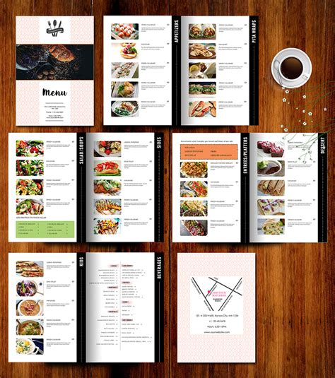 how to add images to restaurant menu template knowledge