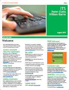 Its Help Desk Psu by Information Technology Penn State Wilkes Barre