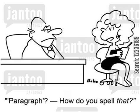 Bad Speller Cartoons Humor From Jantoo Cartoons
