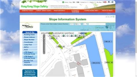 the public can access slope information and maintenance