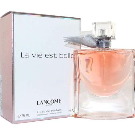 La Vie Top 1 la vie est de lanc 244 me edp 75ml achat vente parfum la vie est de lanc 244 me cdiscount