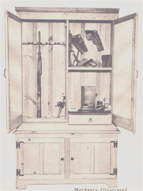 free wooden gun cabinet plans simple gun cabinet woodworking plans image mag