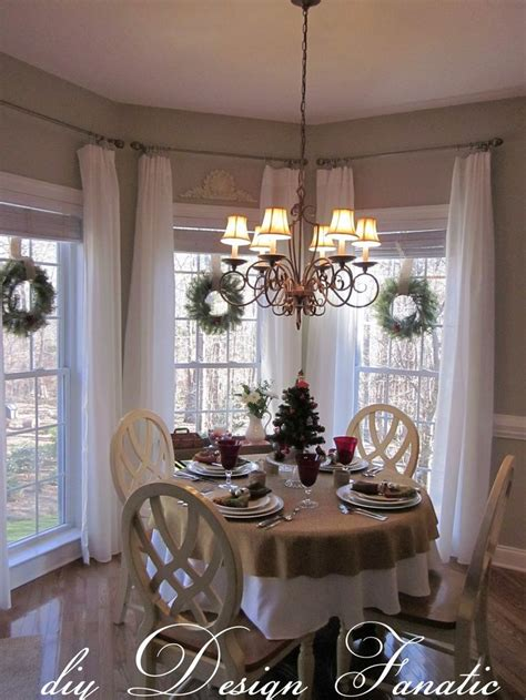 dining room bay window treatments 19 best bay window images on pinterest