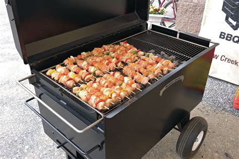 chicken bbq pit trailer heavy duty charcoal grill bbq42 bbq pit