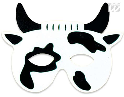 cow mask template spotted cow mask printable template pictures to pin on