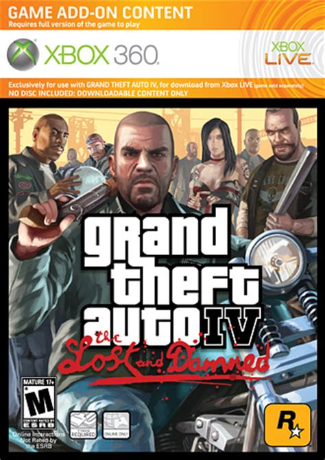 grand theft auto iv the lost and damned overview