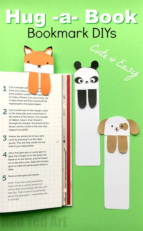 Plain Bookmarks To Decorate by Bookmark Bookmark Ideas Ted S