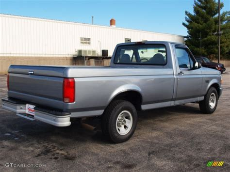 ford opal light opal metallic 1995 ford f150 xl regular cab exterior