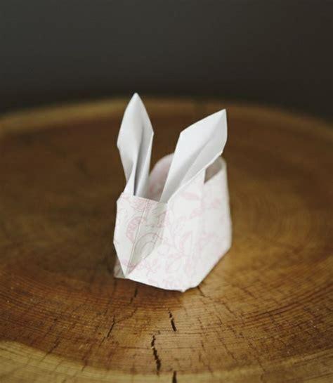 Origami Hase Faltanleitung by Origami Hase Falten Anleitung Und Inspirierende