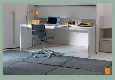 scrivanie attrezzate amazing scrivania a scomparsa a muro parete attrezzata con