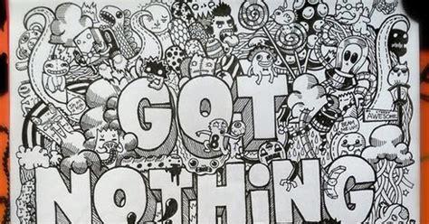 doodle jepang mengenal karya seni doodle detail dot