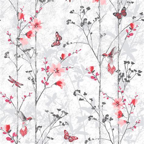 Eden Pattern Wallpaper | floral wallpaper eden muriva 1025 murivamuriva