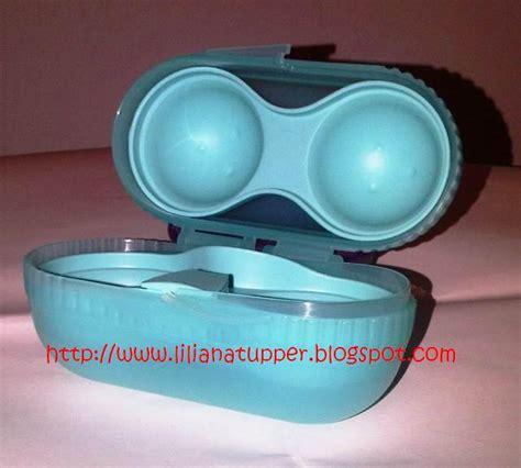 Tempat Telor Pakai Tutup Acrylic liliana s tupperware new limited item imported from china