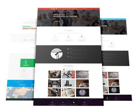 theme wordpress free creative creative business wordpress theme wt folio ii free