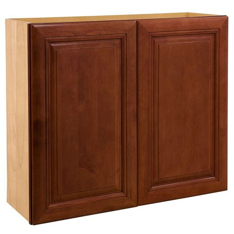 assembled kitchen cabinets home decorators collection lyndhurst assembled 24x36x12 in