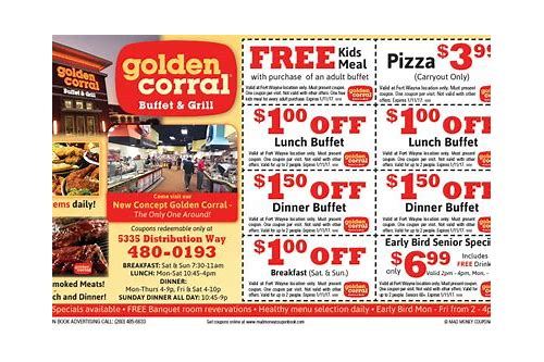 golden corral coupons winder ga