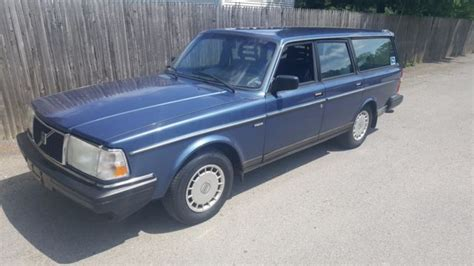 1991 volvo 240 wagon one owner 1991 volvo 240 wagon for sale volvo 240 1991