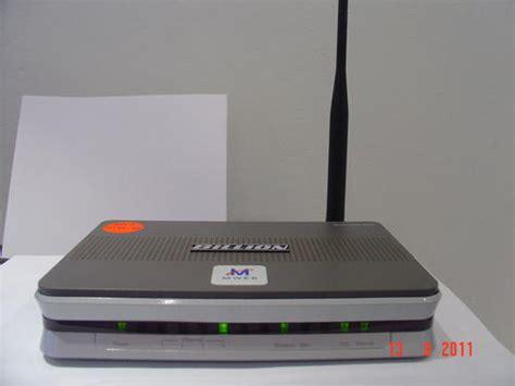 Modem Billion Adsl Surabaya modems mweb billion w40 adsl modem router was sold for