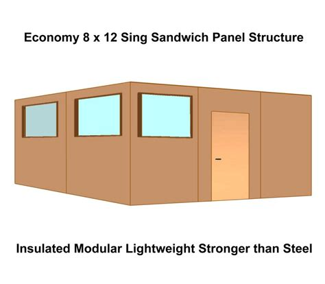 modular buildings enclosures partitions insulated
